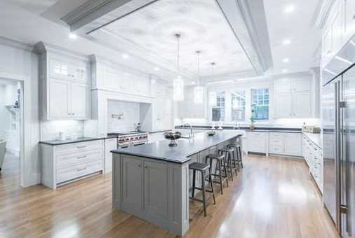 Brand new majestic shingle style residence offers over 9000 sq.ft of living space on 3 levels.
