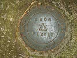 Mount Pisgah: It is the highest point in Northborough and two trails, Tyler and Summit trails, will lead you to this summit marker. Location: 19 Smith Rd, Northborough, MA 01532