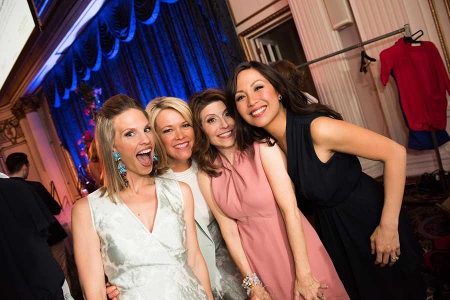 Erica Tarrantal, Heather Unruh, Mary Saladna and Antoinette Antonio