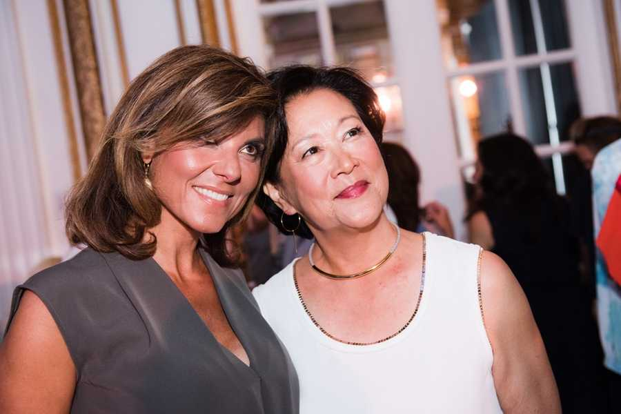 Maria Stephanos and Janet Wu