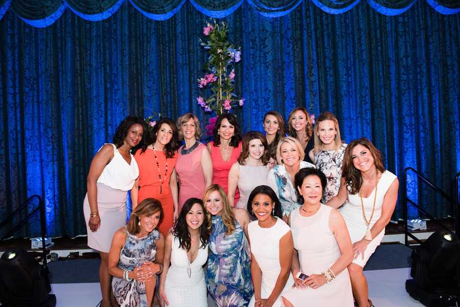 The women of WCVB were the stars of the fashion runway