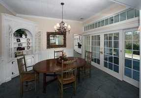 The house has a beautiful open floor plan,which is terrific for entertaining.