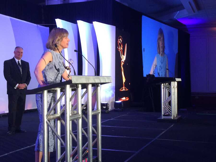 5 Investigates' Kathy Curran wins a New England Emmy for Best Investigative Reporter.