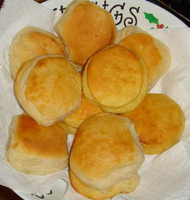 Biscuits: 1 cup of biscuits, dry mix has 1531 mg of sodium.