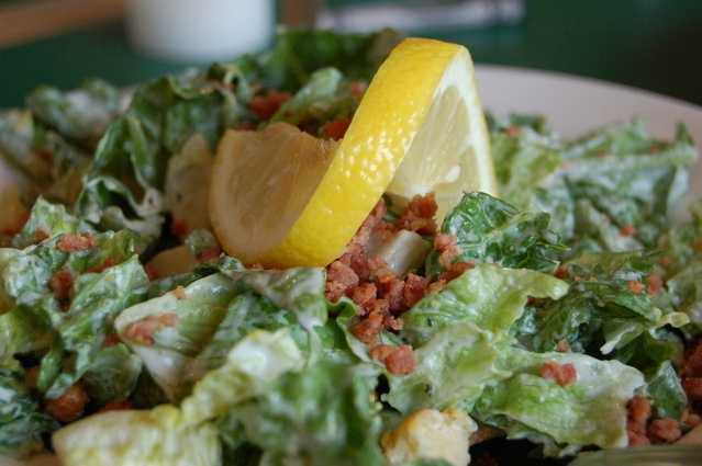 Caesar salad dressing: 2 tbsp has 430 mg of sodium.
