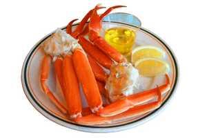 One crab leg has 1436 mg of sodium.