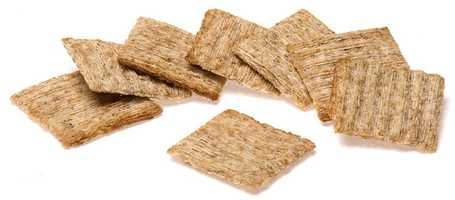 Crackers: 134mg of sodium per 1 cup