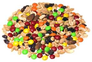 Trail mix: 344mg of sodium per 1 cup
