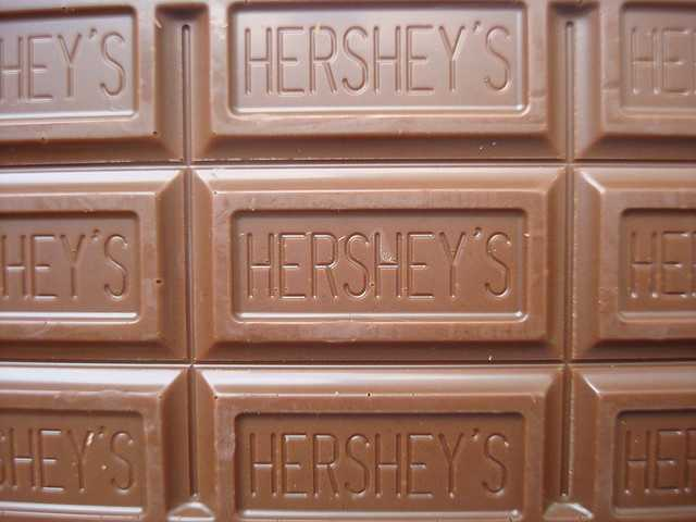 Milk chocolate: 35mg of sodium per candy bar