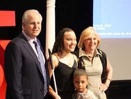 Precious Perez of Chelsea receives A+ scholarship