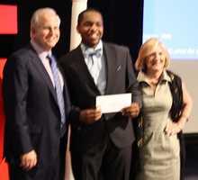 Jamar Pierre Louis of Framingham receives A+ scholarship
