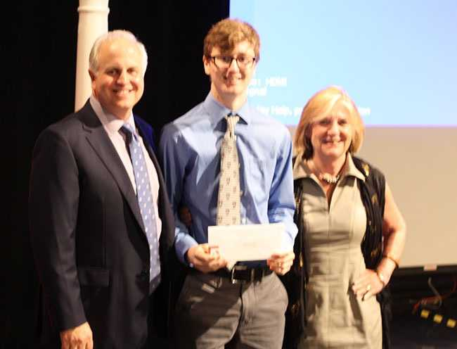 Skyler Robinson of Fitchburg receives A+ scholarship