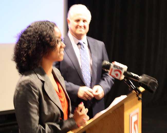 Isis Rivera of Boston receives A+ scholarship