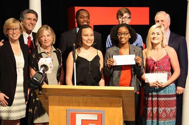 Graduating high school seniors in Massachusetts receive A+ scholarship