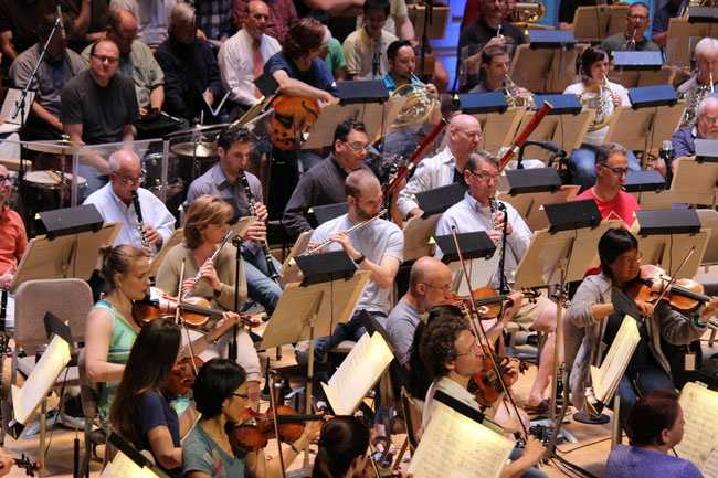 """""""We are constantly adjusting to what may be on the stage in front of us or to the conductor or to the particular score that we are playing,"""" said Young."""