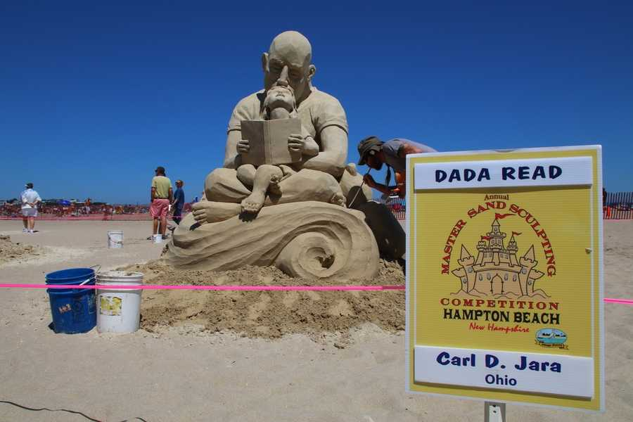 "4th Place - Carl Jara - ""Dada Read"""