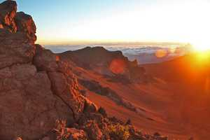 Haleakala National Park offers lush rain forests and volcanic landscapes for visitors in Hawaii.