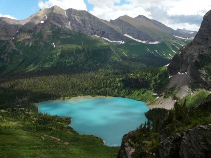 Glacier National Park is a true nature lover's paradise. Located in Montana, it features more than 700 miles of trails, forests, meadows, lakes and mountains