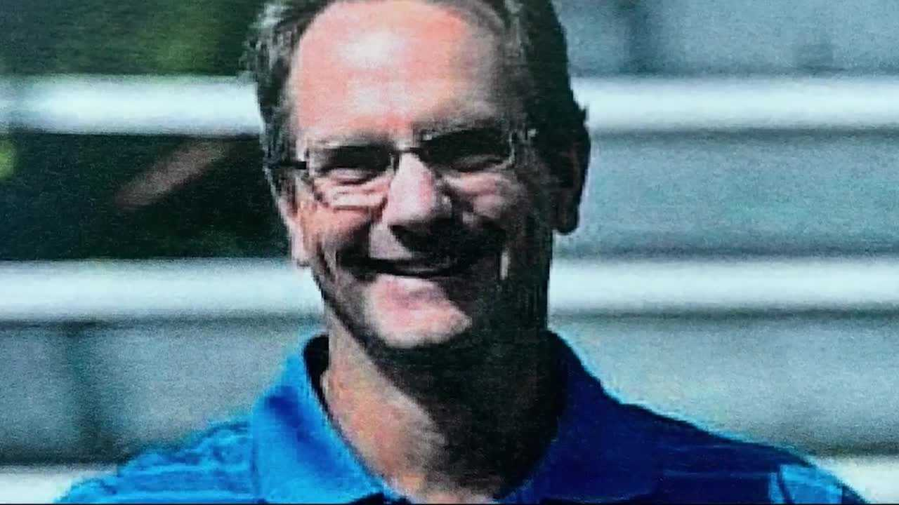 Tom Gunning, a father of three, died after being hit by a fallen tree limb in Canton back in February.