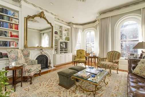 19 Rutland Square is on the market in Boston for $3,650,000.
