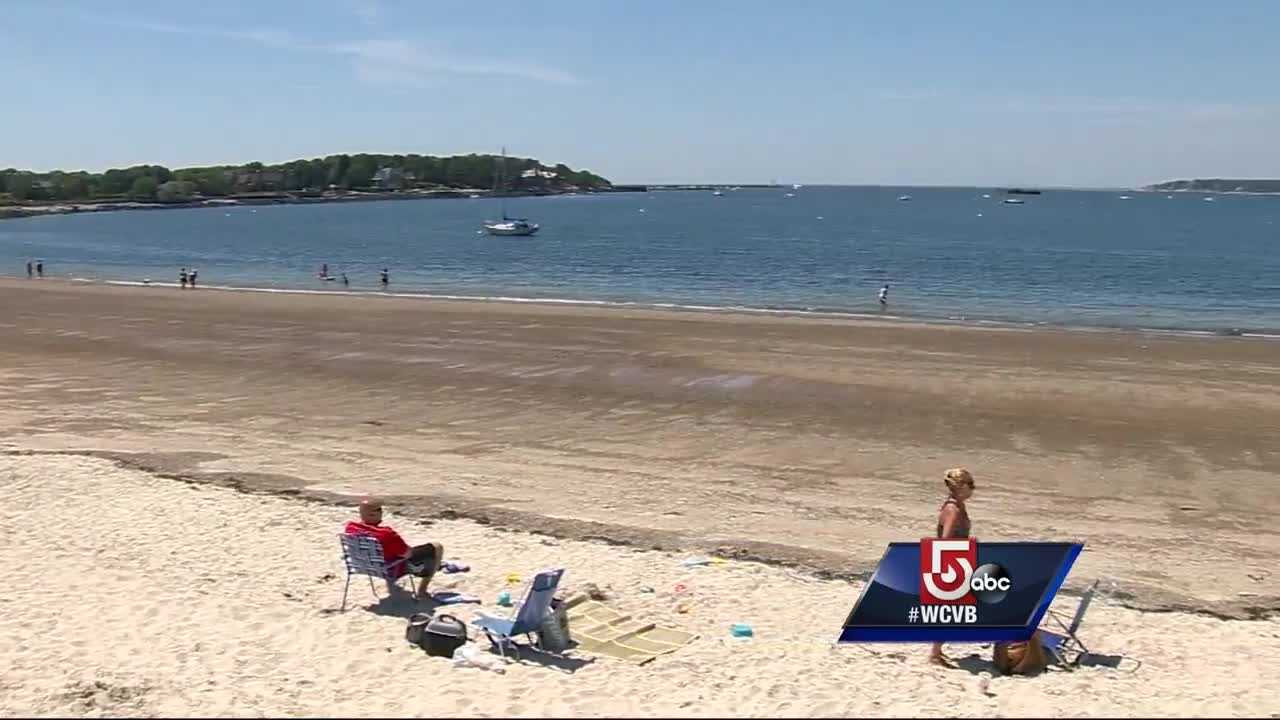 A beach in Gloucester has a lifeguard shortage that is making parents extra cautious with their children.