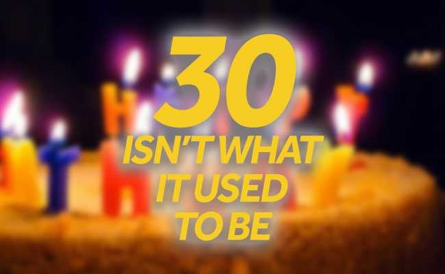 In the course of the last 50 years, the lifestyles and achievements that come with turning 30 have changed significantly. Check out these facts from the U.S. Census Bureau.
