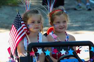 Boxford, Massachusetts Fourth of July Parade.  July 4, 2016