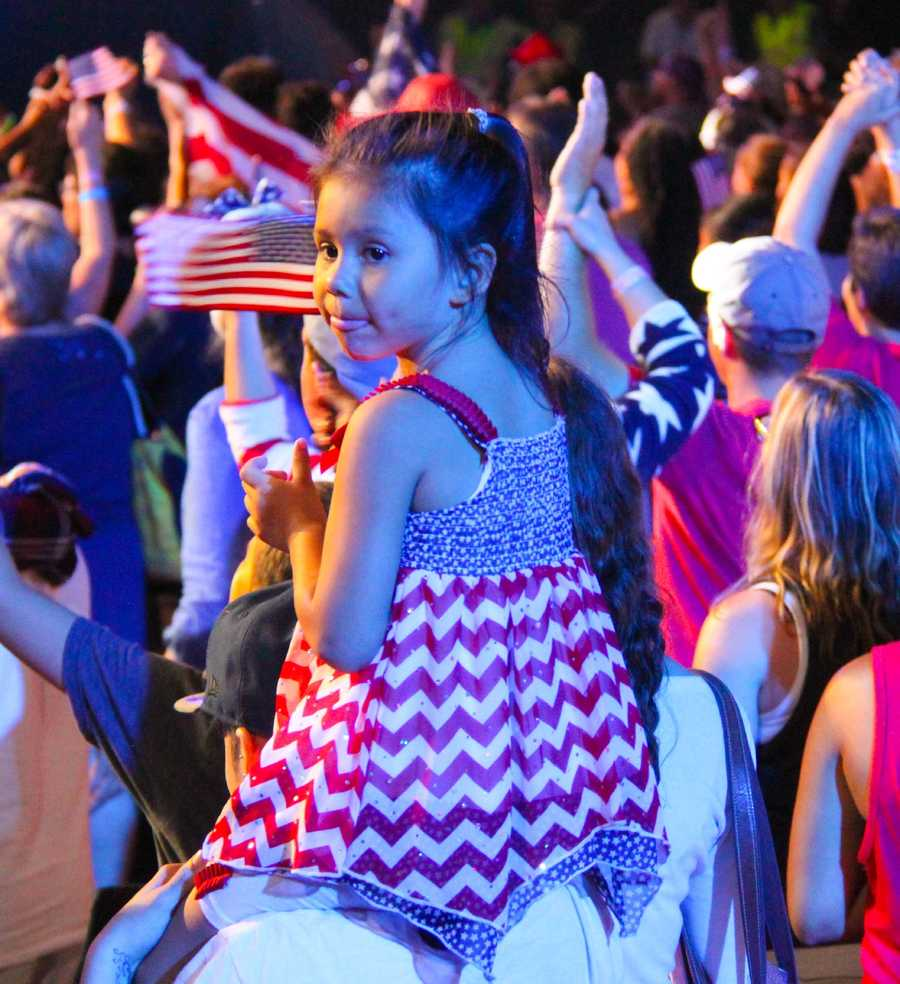 Boston Pops Esplanade Concert.  July 4, 2016