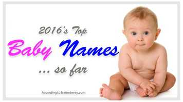 A new name moves into the top spot on Nameberry.com'spopularity list after the first half of 2016.