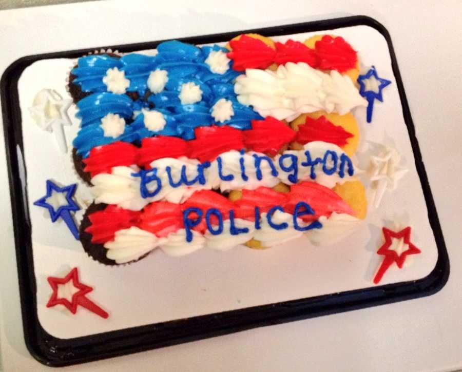 """""""A nice resident dropped this off to us as a thank you for our service to the community."""""""