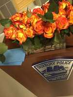 """""""Thank you Duxbury. We appreciate all of the support. From flowers and coffee to a passing thank you it means a lot,"""" Duxbury police."""