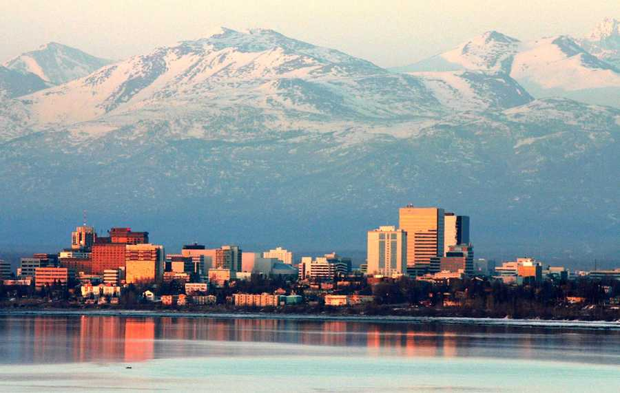 3. Anchorage, Alaska