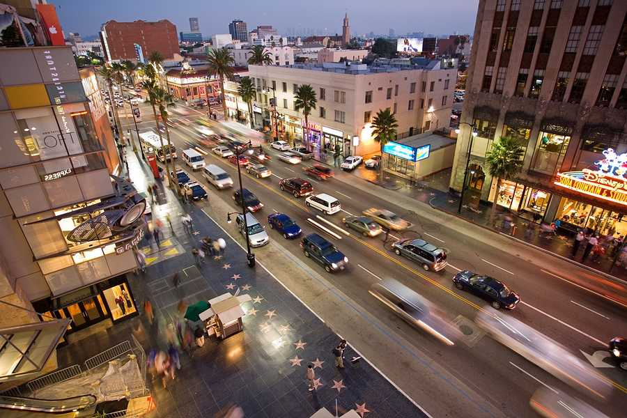 10. Los Angeles, Cali.