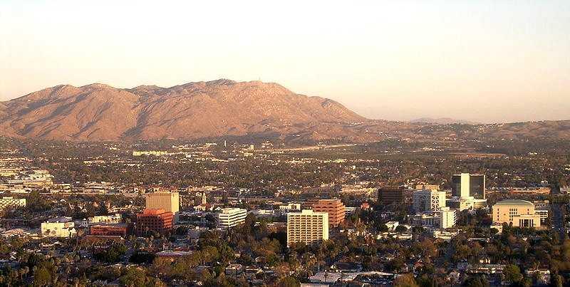 9. Riverside, Cali.