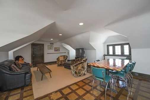 Third floor has an additional bedroom w/full bathroom & billiard room.