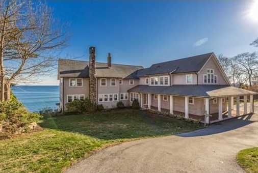 This stunning oceanfront Colonial commands enviable views of the dramatic Magnolia coastline, Norman's Woe, the Outer Harbor and Eastern Point.
