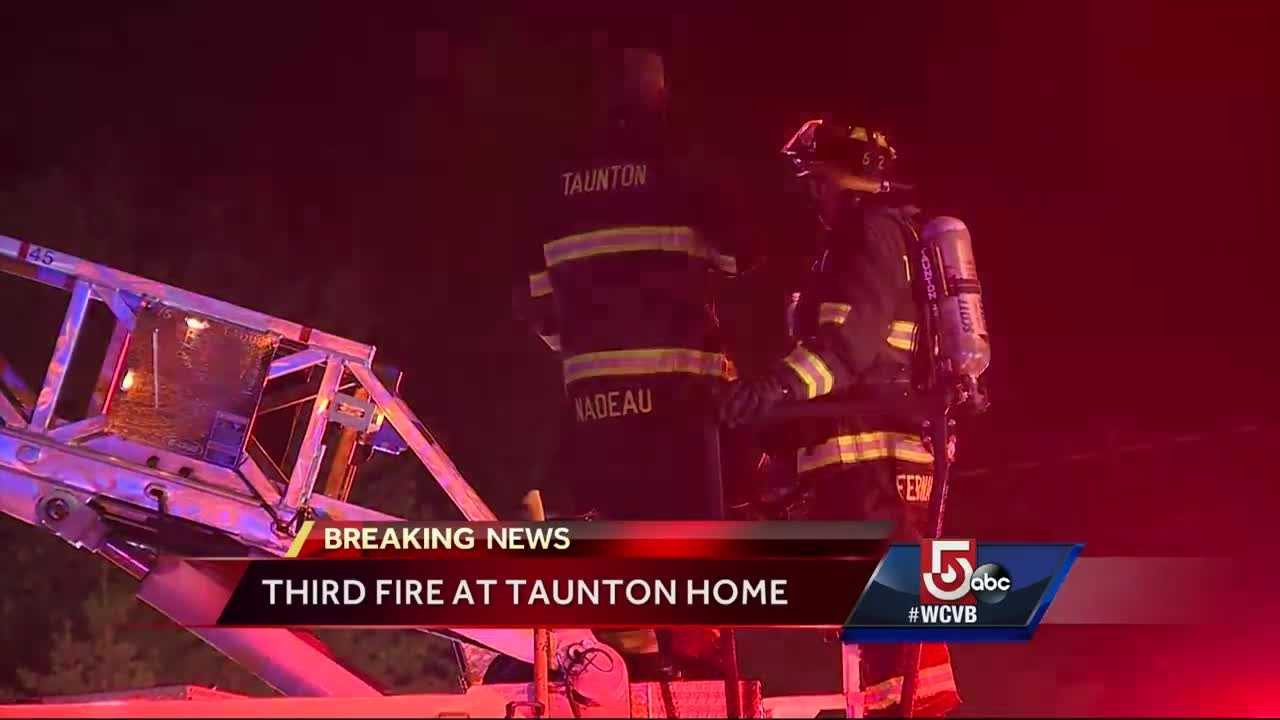 Authorities are offering a reward to anyone with information into a fire at a vacant home in Taunton.