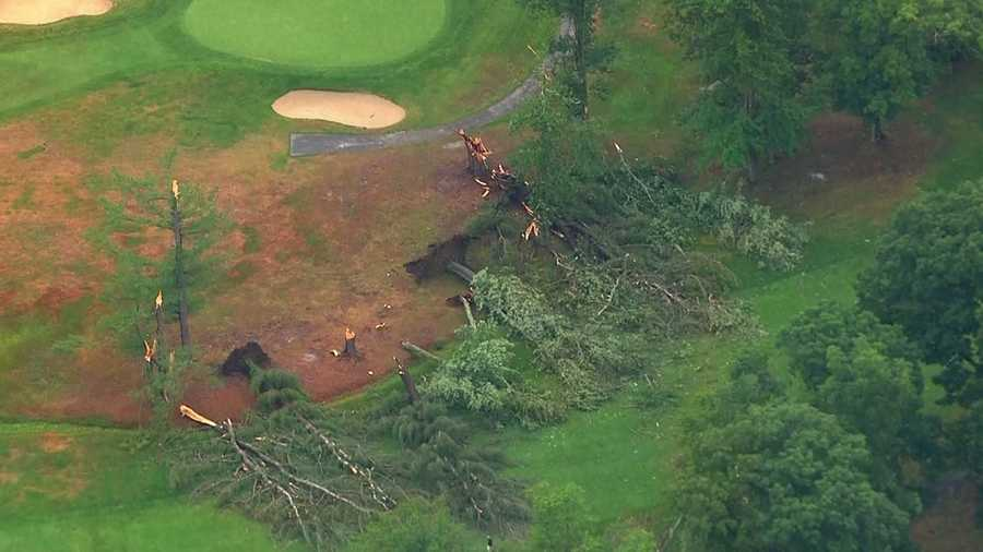 Haverhill: Several trees are down at the country club