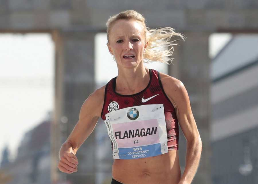 Shalane FlanaganHometown: MarbleheadEvent: Track and field, marathonDate of birth: July 8, 1981Olympian in 2004, 2008, 2012 and winner of bronze medal in Beijing 2008 Olympic Games