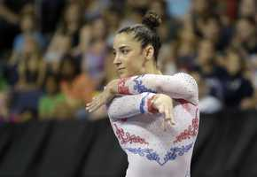 Aly RaismanHometown: NeedhamEvent:Artistic GymnasticsDate of Birth: May25, 1994Three-time Olympic medalist with two golds and one bronze in London 2012 Olympic Games