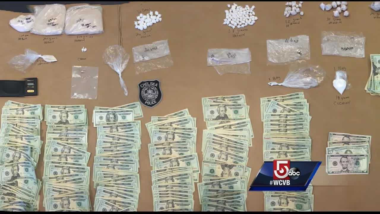 Drug dealers who were arrested in a major drug bust in Chelsea had 'imposter identities', police say.