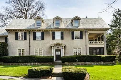 232 Franklin Street is on the market in Newton for $2,420,000.