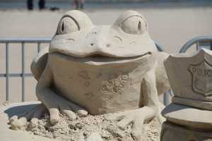 Steve competed in his first Master's Sand Sculpting ten years ago. He now heads the Sandtasia Sand Sculptors of the Ocean State.