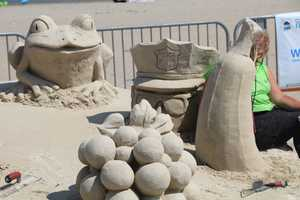 Deborah, a graduate of the Art Institute of Boston, found her creative outlet in the sand in 2005 and has participated in different sand sculpting events ever since.