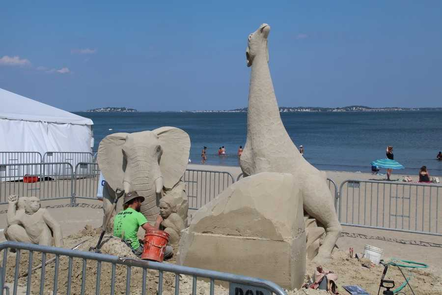 After leaving college in 2007, Morgan stumbled into sand sculpting. She also enjoys pursuing snow, and ice sculpting.