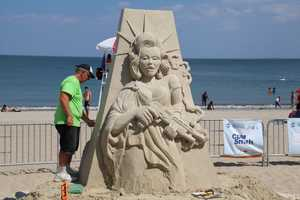 Kevin Crawford from Perth, Australia has been a professional sand sculptor for 35 years and lived much of his life as a nomadic sand gypsy.
