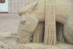 He enjoys the shortlived aspect of sand sculpting, and appreciates the art in each piece more than the thrill of competition.