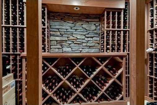 Lower level w/ playroom plus a wine cellar.