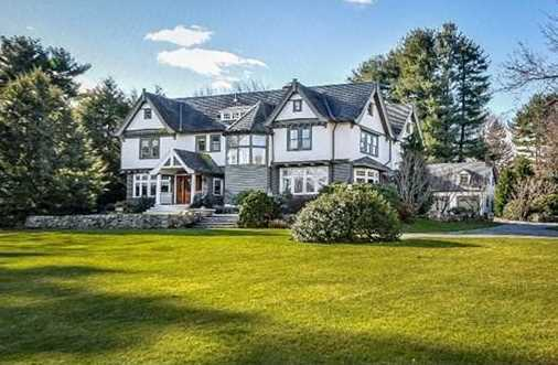 123 Abbott Road is on the market in Wellesley for $2,749,000.