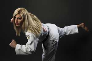 Kayla HarrisonResides in Marblehead, MASport: Judo, -78kgGold medalist in2012 London Olympic Games